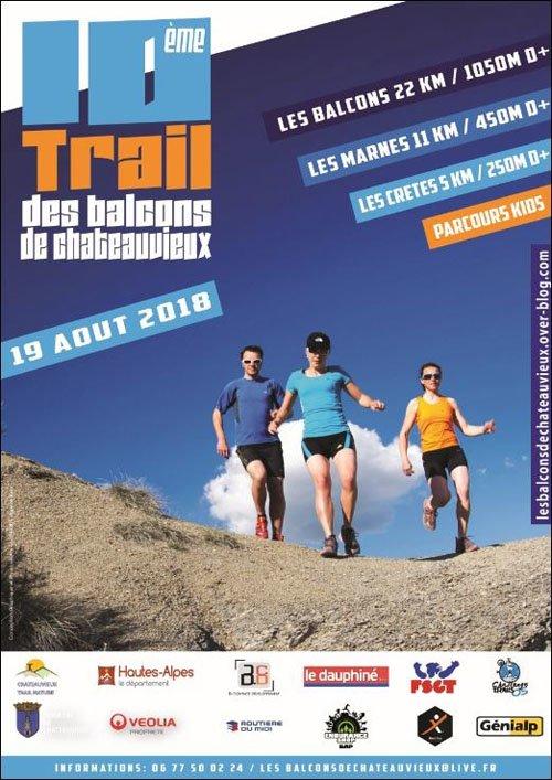 Trail des Balcons de Chateauvieux